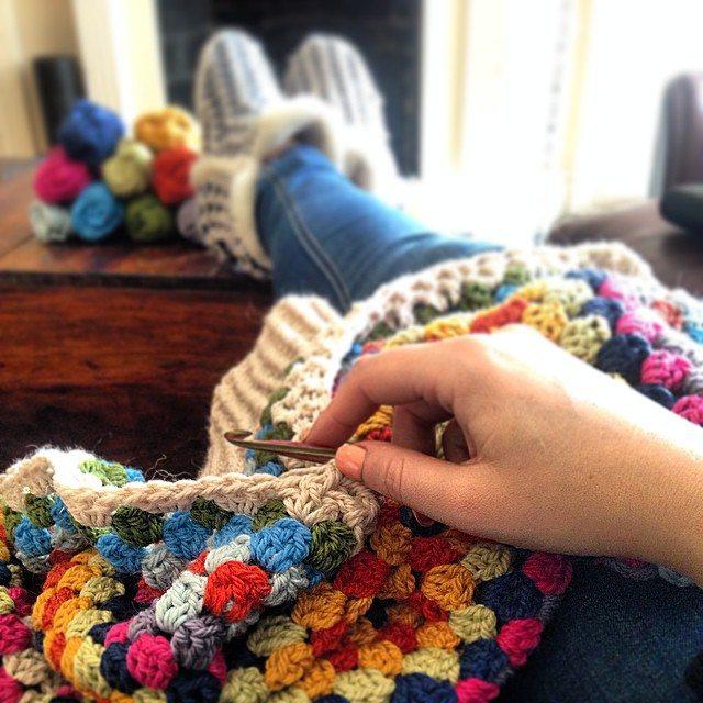 louloudeane granny crochet