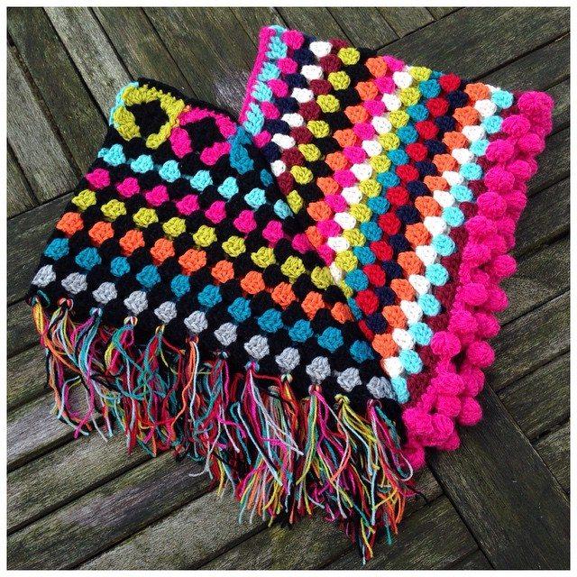 marretjeroos crochet granny poncho