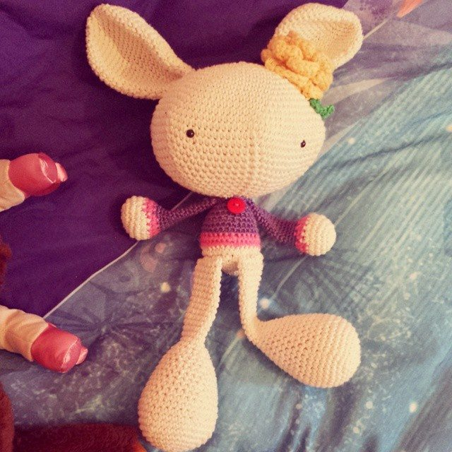 missmotherhook crochet bunny