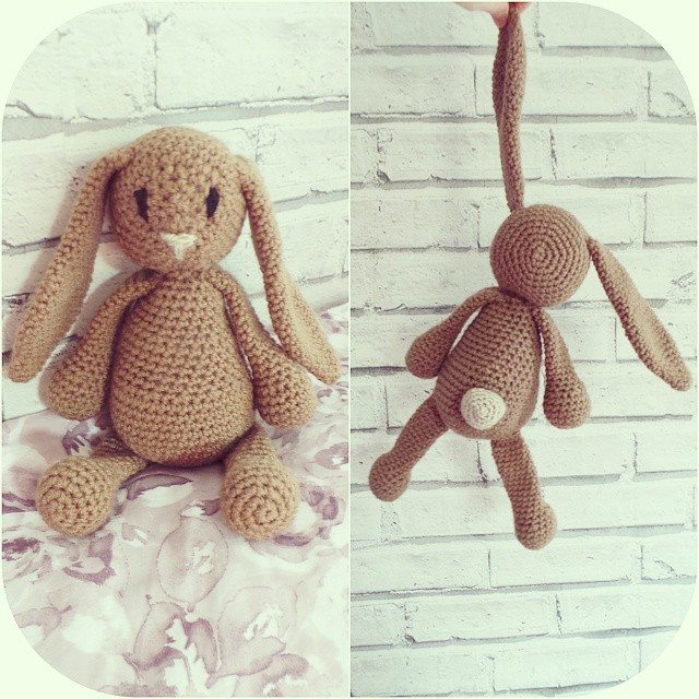 missmotherhook crochet buny