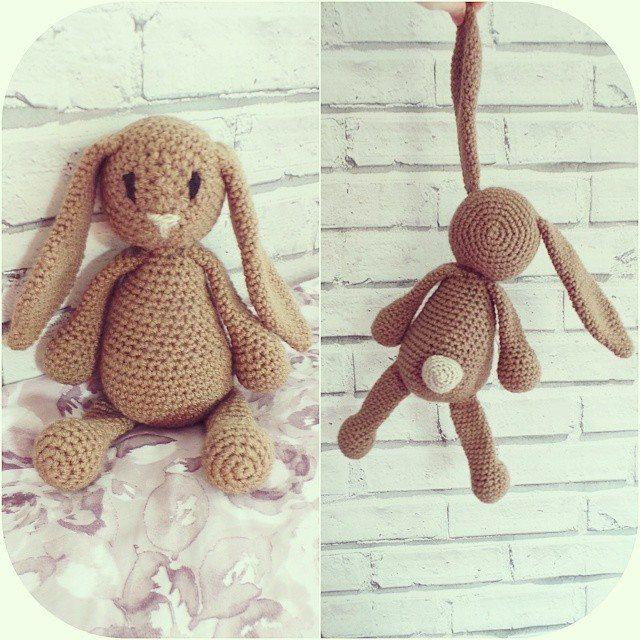 missmotherhook crochet buny