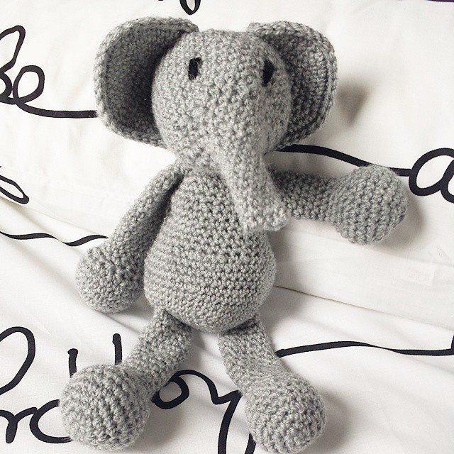 Inspiration! 20 Crochet Elephants! – Crochet Patterns, How