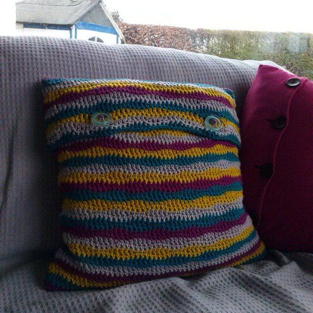 mrsdaftspaniel crochet cushion