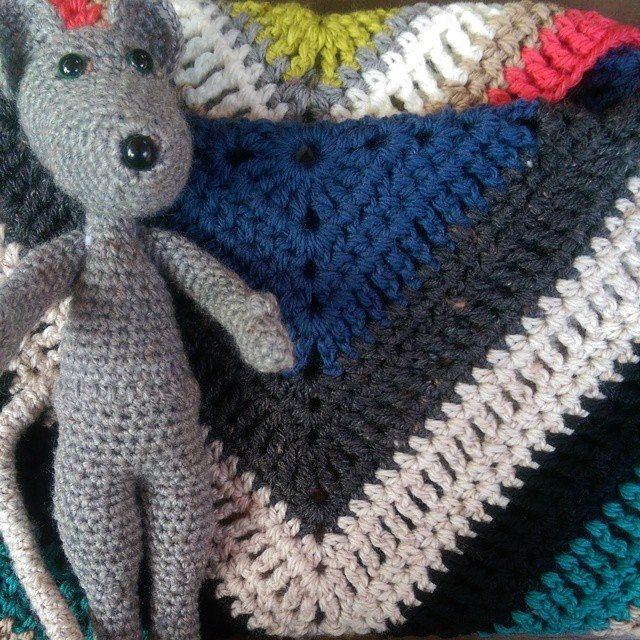 oakherder crochet mouse