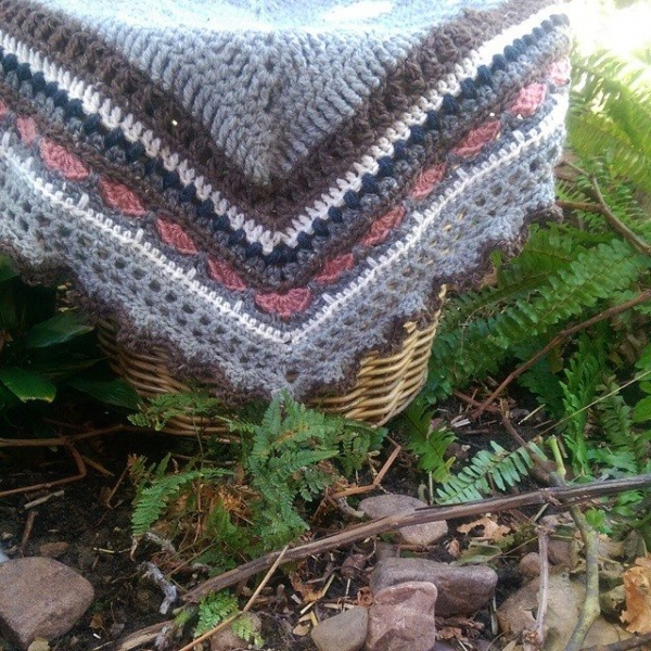oakherder triangle crochet