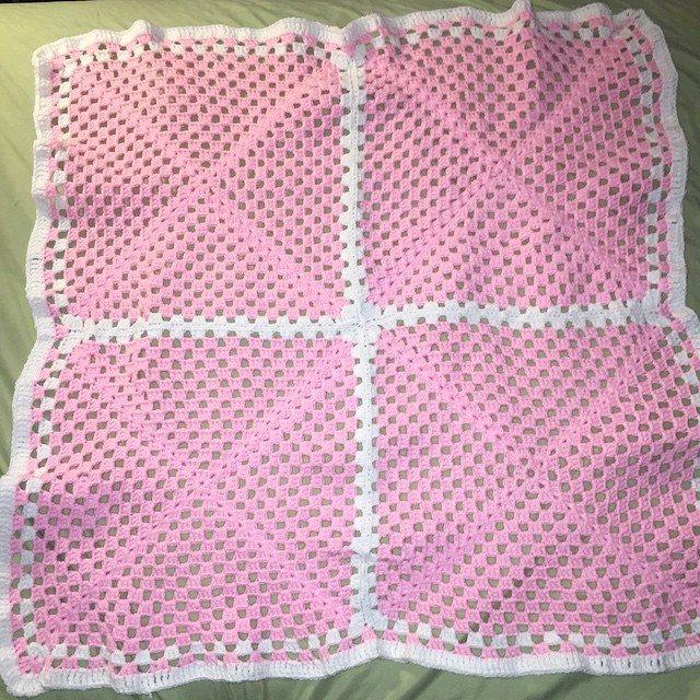 onaturbokick88 crochet blanket