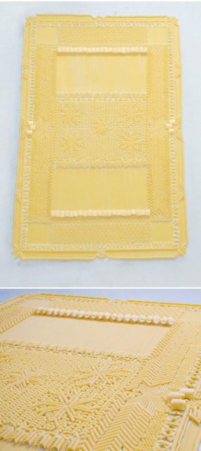 pasta carpet