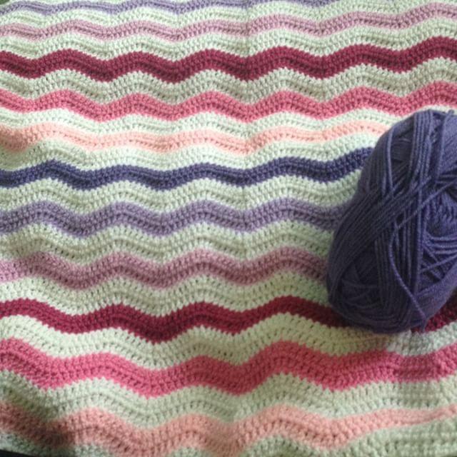 peeka_bo_crochet ripple crochet blanket
