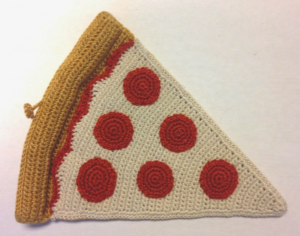 pizza crochet pattern