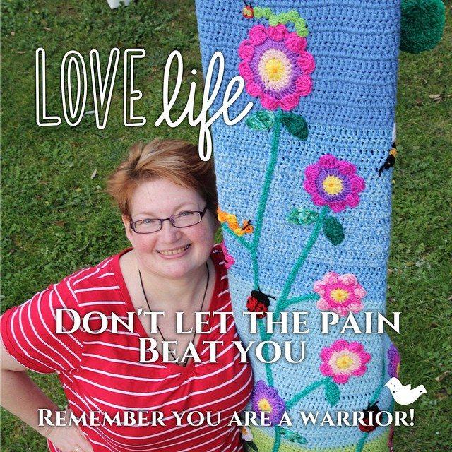 queen_babs crochet yarnbomb