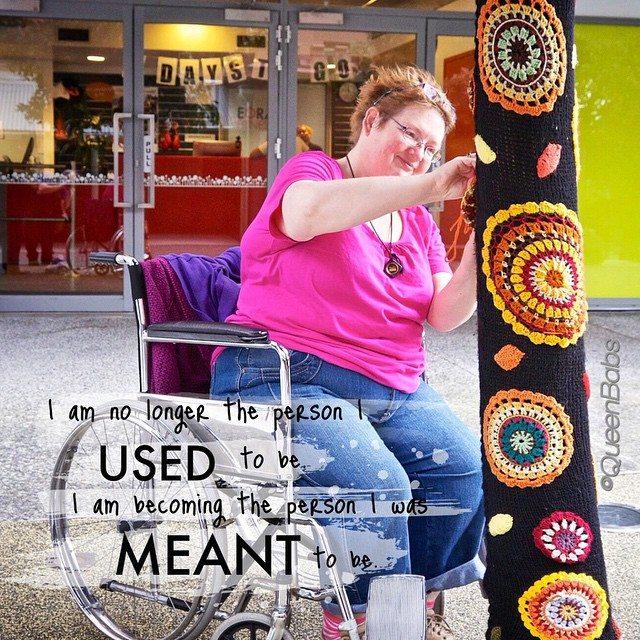 queen_babs yarnbombing inspiration