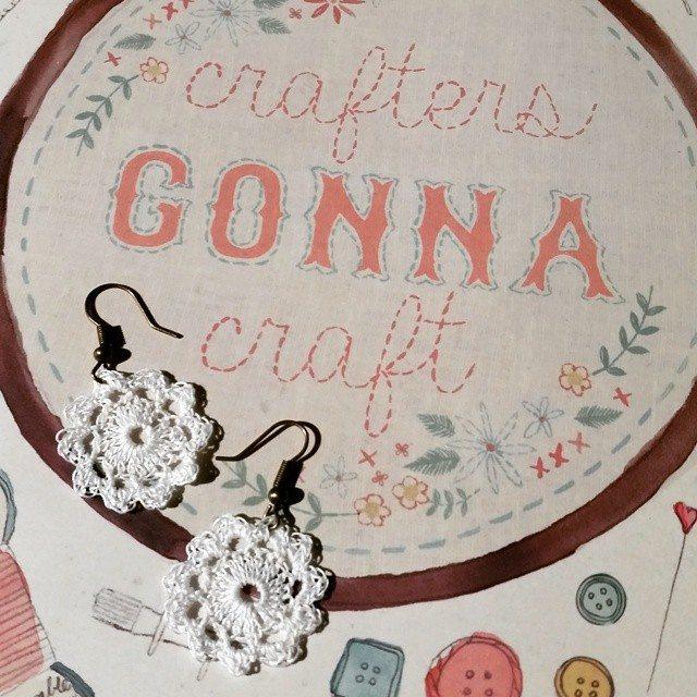 scentualsecrets crochet earrings