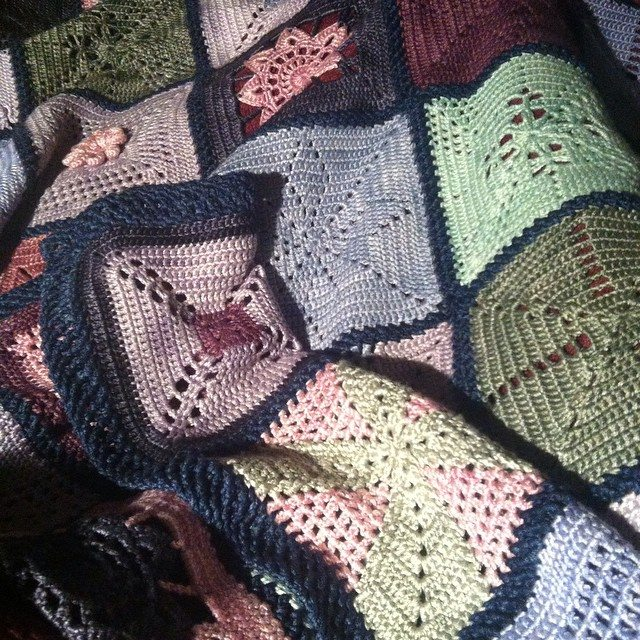 stephaniedavies crochet blanket