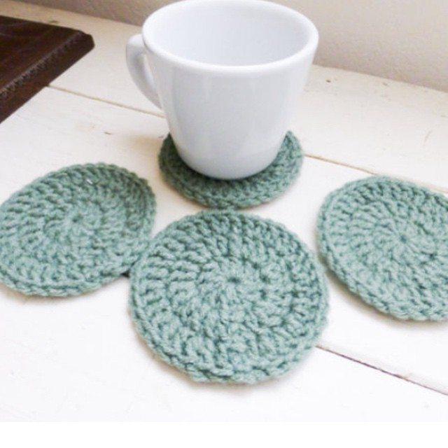 stitchyimpressions crochet coasters
