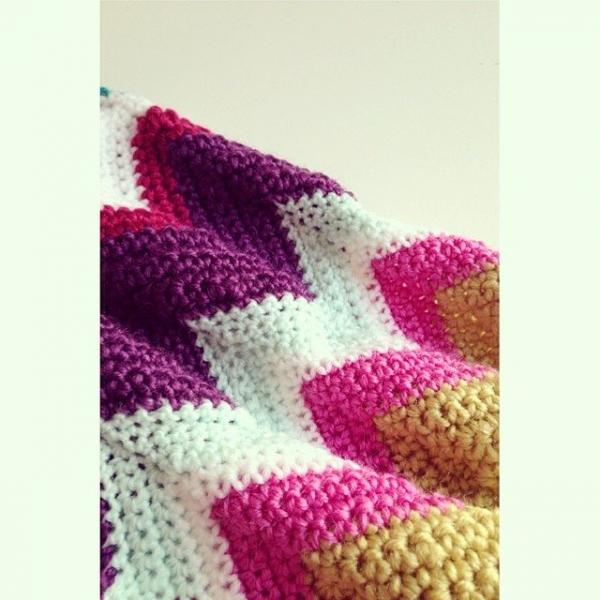 sweet_sharna chevrons crochet