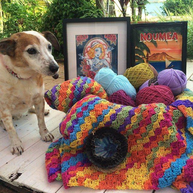 thatgirlwhocrochets crochet puppy