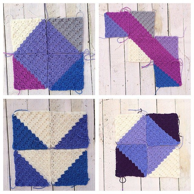 thatgirlwhocrochets crochet squares
