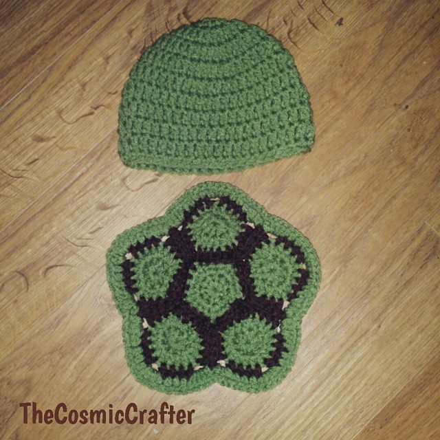 thecosmiccrafter_ crochet turtle baby