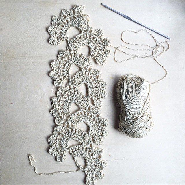 thecroknitclub crochet scarf