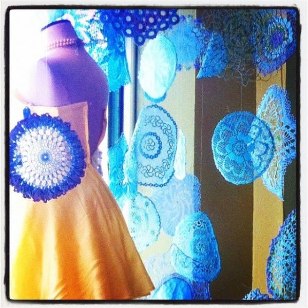 thrift crochet doilies