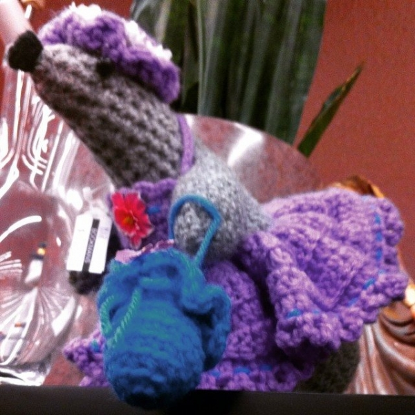 thrift crochet sea lion