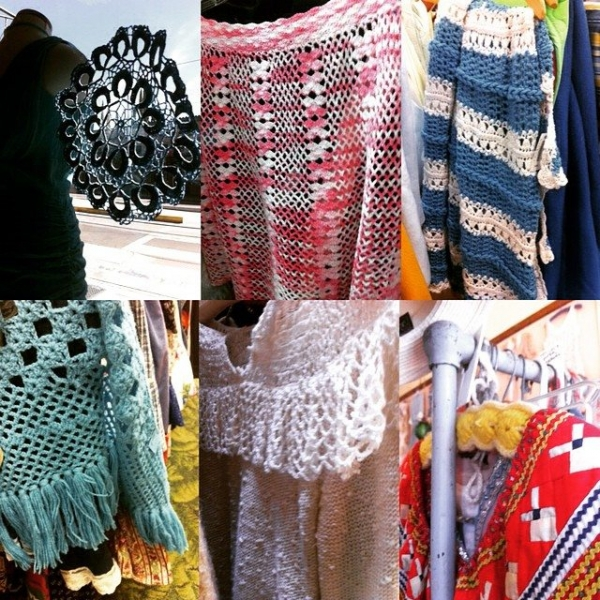 thrift crochet shop