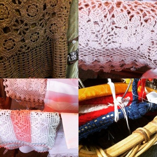 thrift crochet shopping