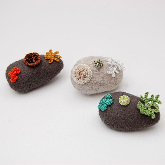 woodland crochet jewelry elin