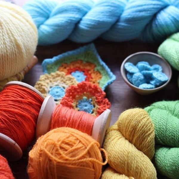 woolyana colorful yarn