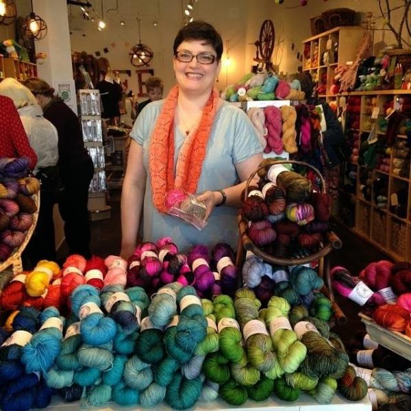 yarn dyer