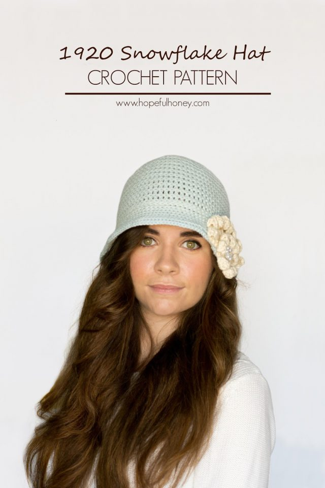 vintage crochet cloche hat free pattern