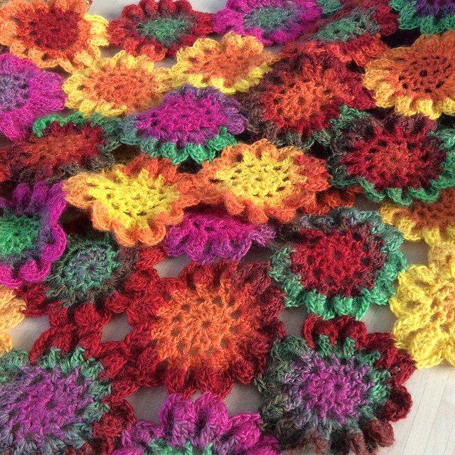 aglaelaser crochet flowers