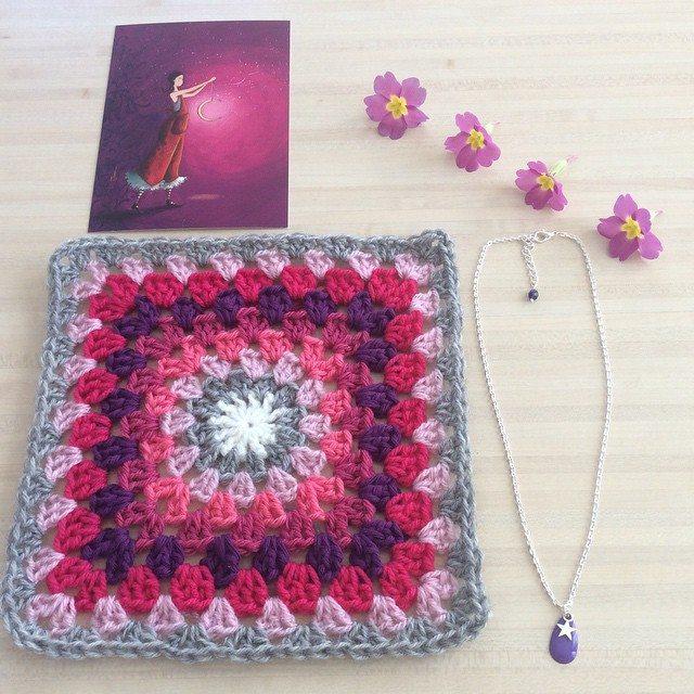 aglaelaser crochet square
