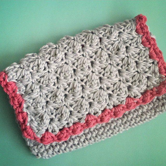 amimami10 crochet clutch