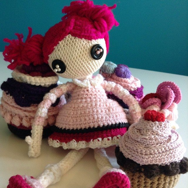 anargirosmou crochet doll