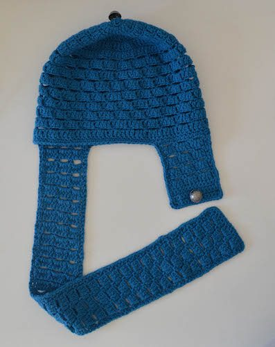 aviator crochet hat pattern