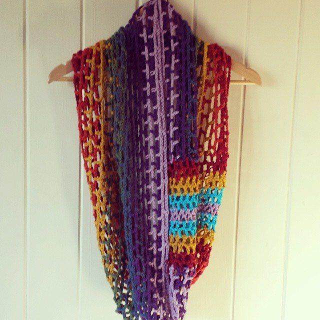 classybird28 crochet scarf