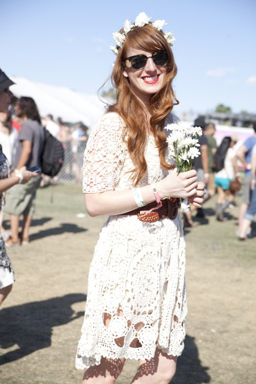 coachella crochet dress