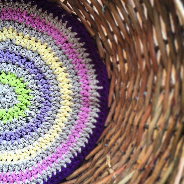 cozamundo crochet basket