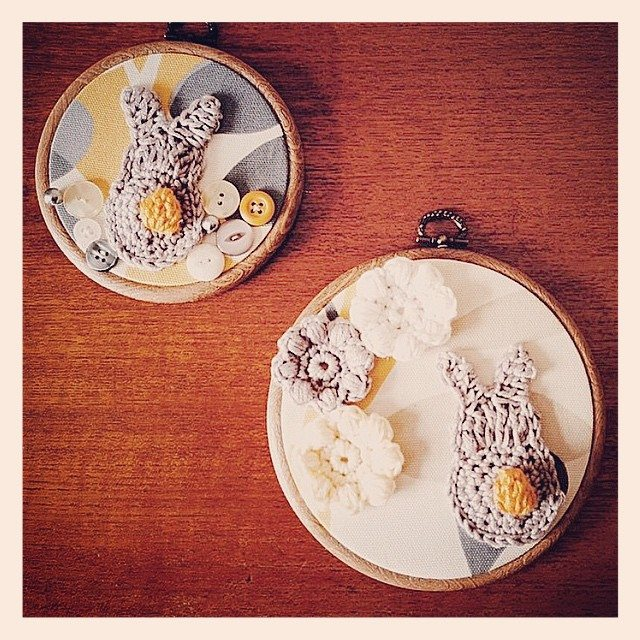 cozamundo crochet easter art