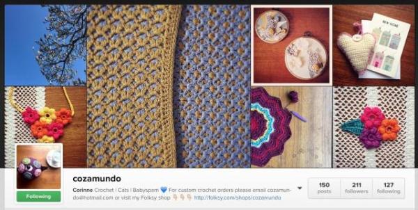 cozamundo instagram crochet