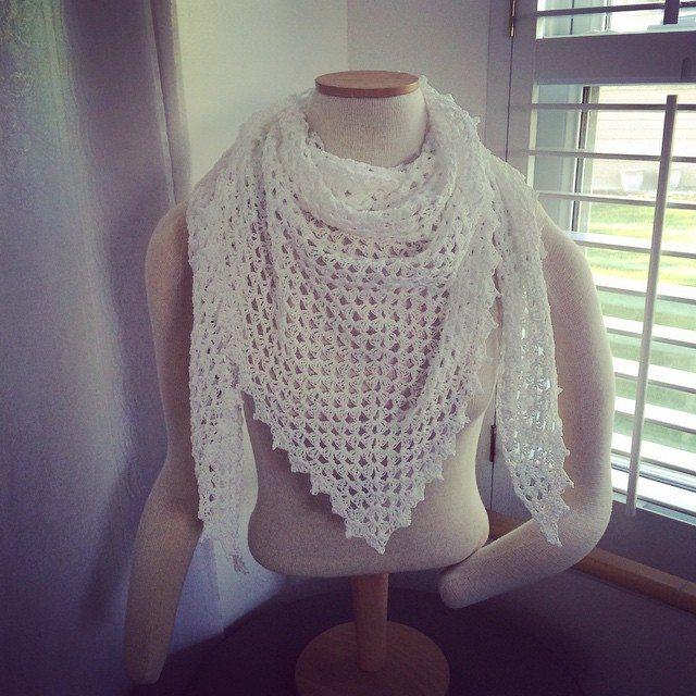 creativedesignsbysheila crochet triangle scarf