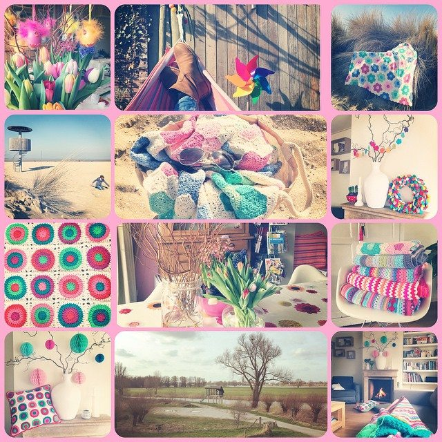 crejatie crochet march collage