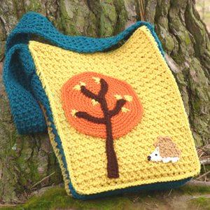 crochet bookbag