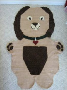 crochet dog pattern