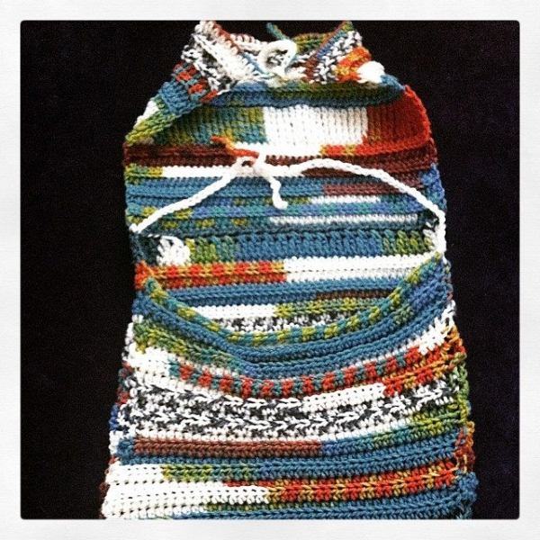 crochet dress halter