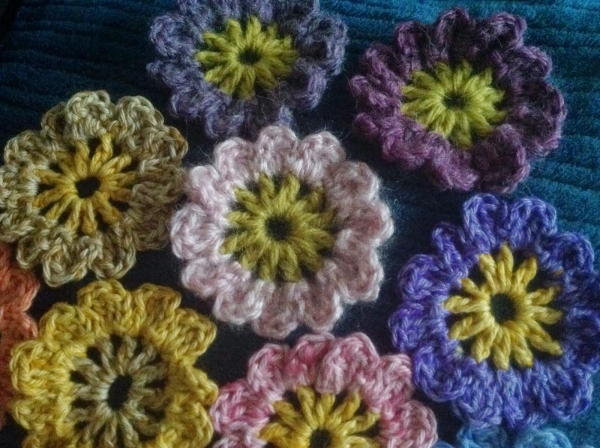 New Crochet : 16 New Crochet Flower Patterns Crochet Concupiscence Bloglovin?