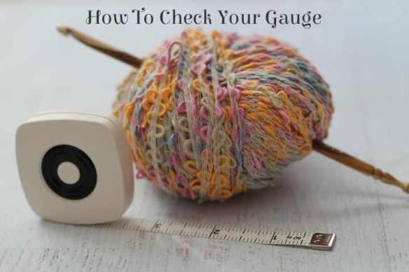 crochet gauge