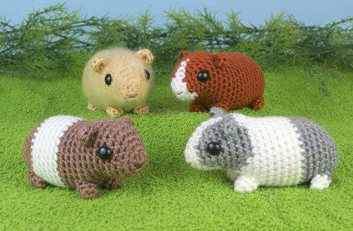 Crochet Amigurumi Guinea Pig : 25 Conseils et nouveaux modeles de Crochet Amigurumi