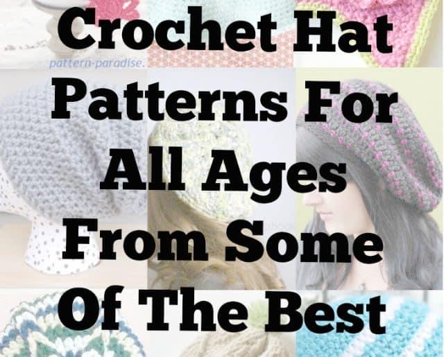 100 best crochet hat patterns